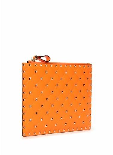 Valentino Garavani Clutch / El Çantası Oranj